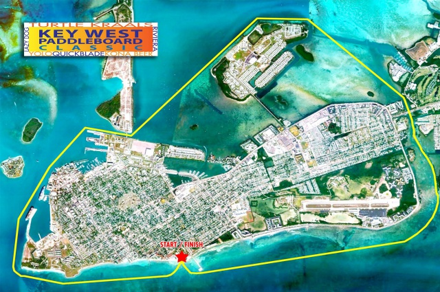 Key West Classic Course Map